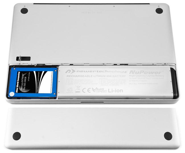 how to change macbook pro battery