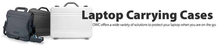 Laptop Carrying Cases OWC offers a wide variety of solutions to protect you laptop when you are on the go.