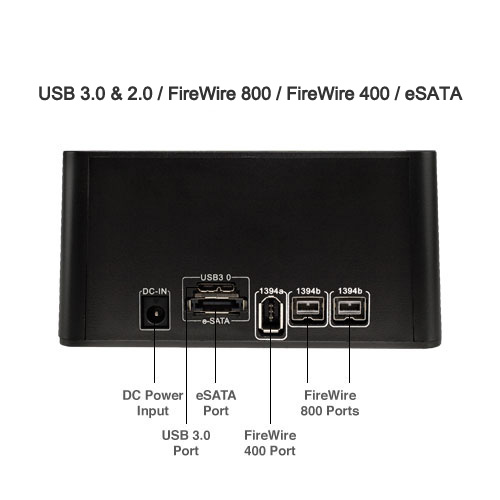 Voyager by NewerTech - HD Dock for SATA Devices
