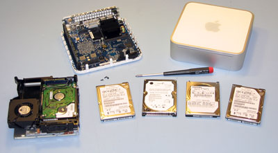 Mac mini Hard Drives