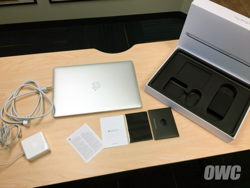 owc unboxes the mid apple macbook pro with retina display