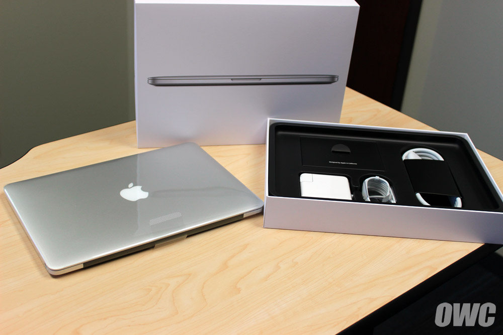 owc unboxes tests ssd speeds of new and retina macbook pros