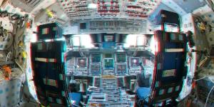 Atlantis Cockpit in 3D