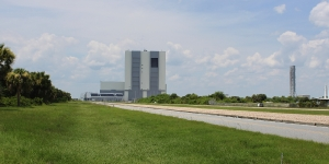 Approaching Kennedy Space Center