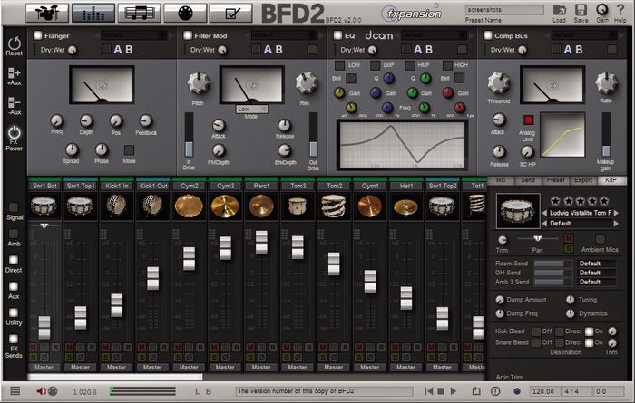 BFD2 Mixer
