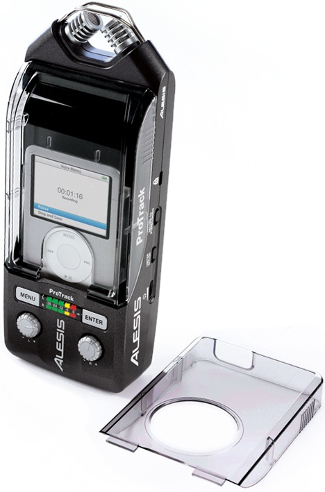 Alesis ProTrack with iPod Nano