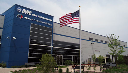 OWC's American Flag raised to full mast at 12:00PM