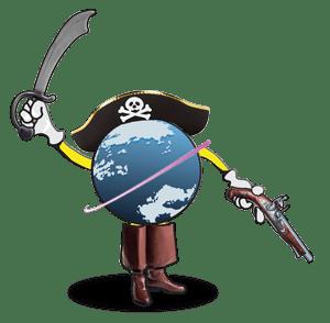 pirate-globe