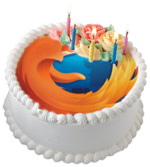 Firefox-Cake