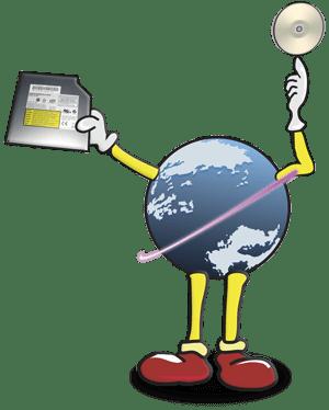 globe-CDdrive