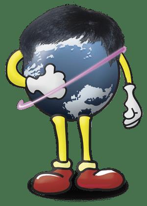 globe-toupee