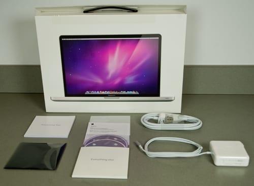 EB macbook pro core i unboxing