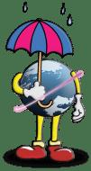 globe-umbrella