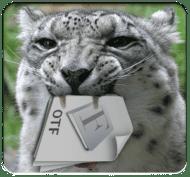 snow_leopard_font