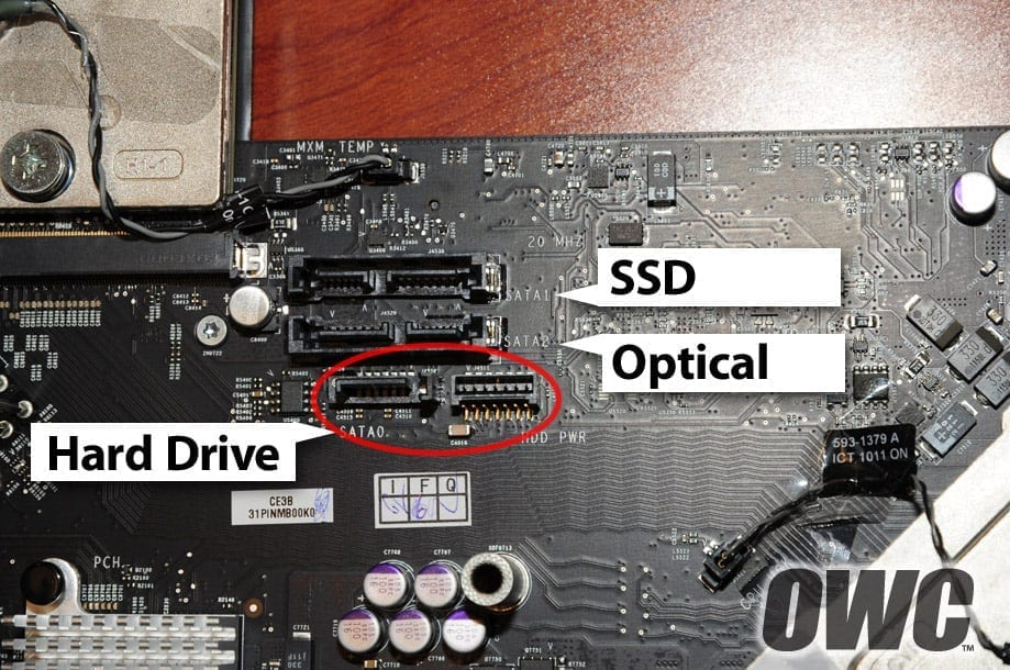 Further Explained: Apple's iMac 2011 Model Hard Drive