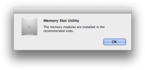 Resolve Random Memory Slot Utility Window Popup
