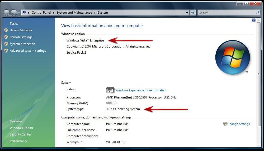 Windows vista home premium sp2 32 bit by oldben news