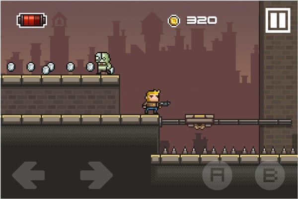 Character? Check. Gun? Check. Random moving platforms in a city? Check.