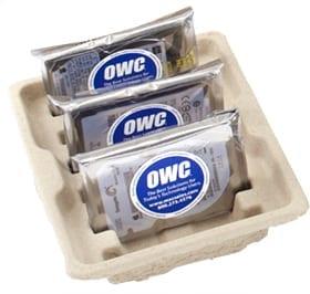 """The OWC Pulp 6-pack 2.5"""" Hard Drive Cushion"""