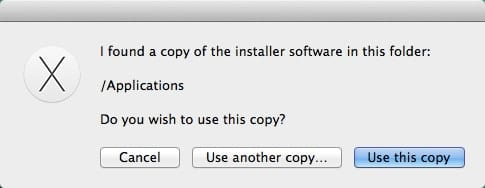 Installer File Location Select