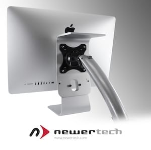 NewerTech Announces the NuMount VESA Adapter for iMac for Securely