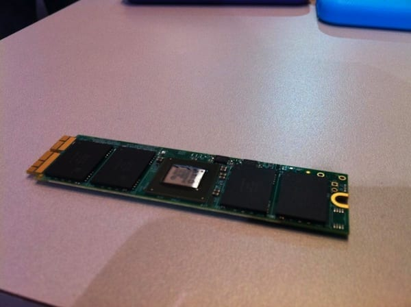 An early look at OWC's PCIe SSD prototype built for MacBook Pro with Retina display 2013, MacBook Air 2013, and Mac Pro 2013 models.