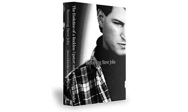 "Cover of ""Becoming Steve Jobs"" hardback"