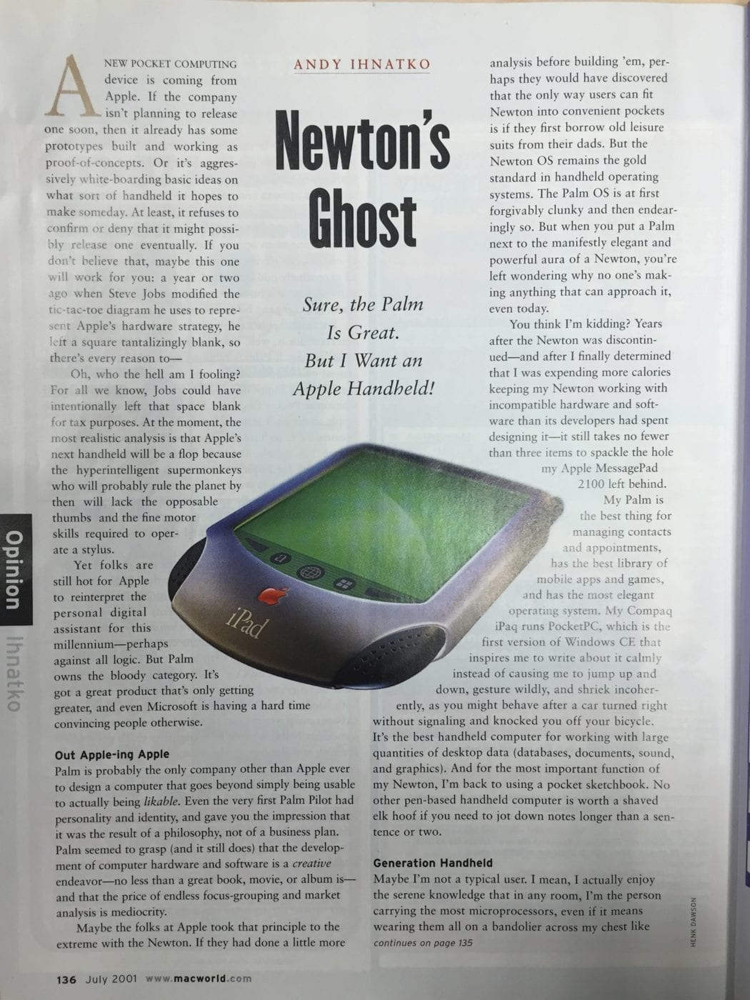 Macworld iPad