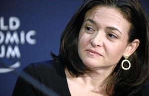 COO of Facebook, Sheryl Sandberg
