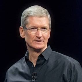 Tim Cook's Twitter Avatar