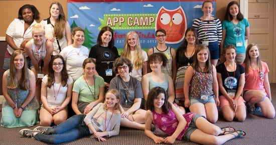 App Camp For Girls, July 2014, Portland.
