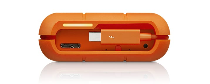 LaCie Rugged RAID - Thunderbolt and USB 3.0 Ports