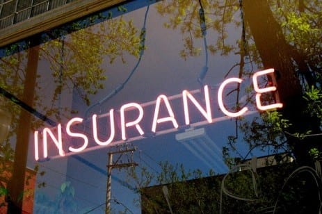 Insurance sign, Photo by David Hilowitz, via Flickr.