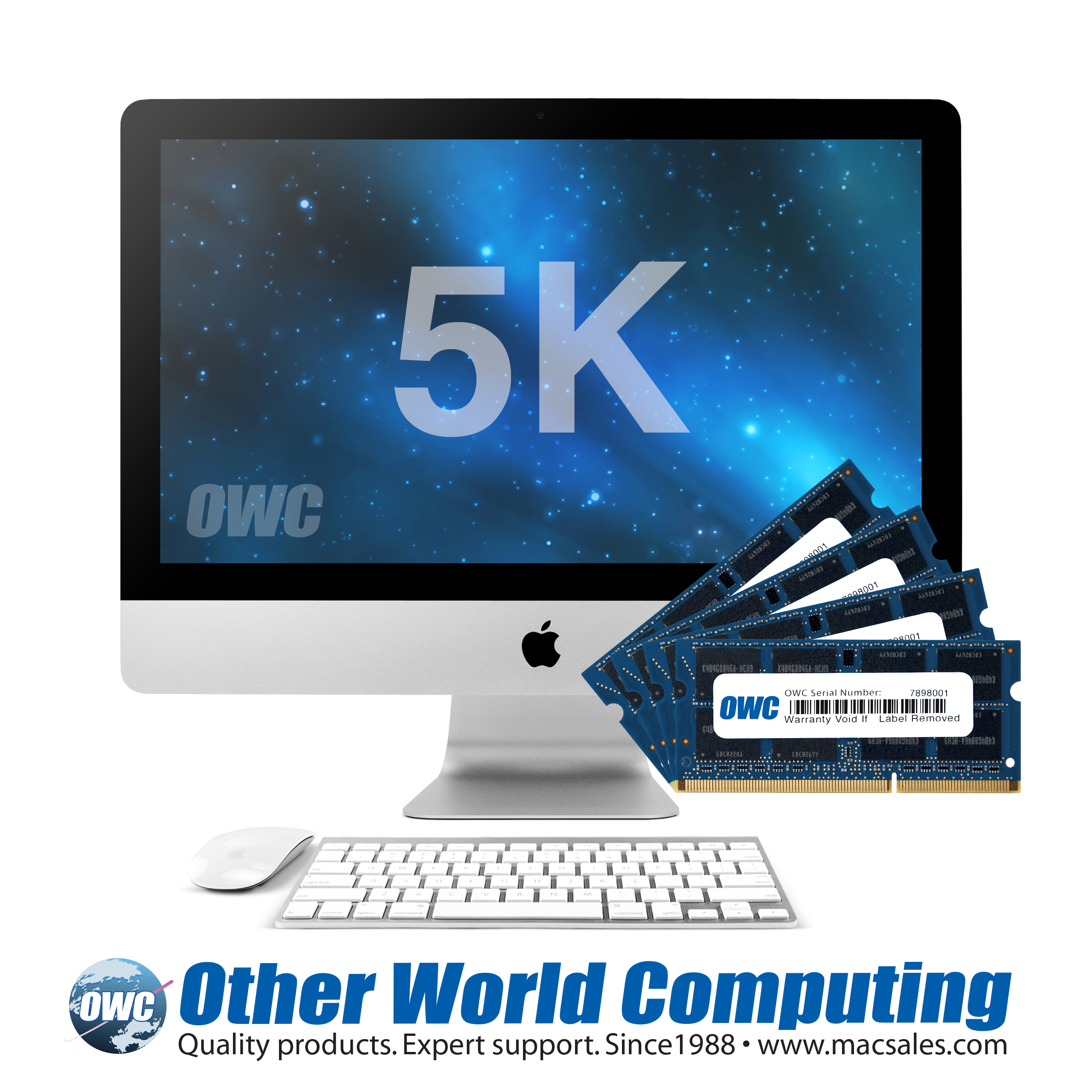 owc announces availability of memory and drive upgrades for latest apple imac with retina k display savings up to vs factory