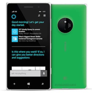 Windows Phone with Cortana Digital Assistant