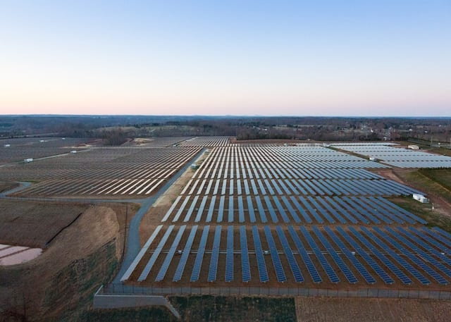 Apple Solar Farm, North Carolina