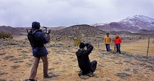 brisk high desert air of fields, corrals and wild/domestic animals