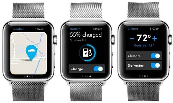 Volkswagen Car-Net on Apple Watch