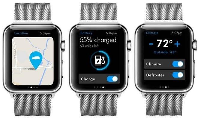 Volkswagen Car-Net on Apple Watch