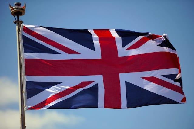 British Union Jack Flag
