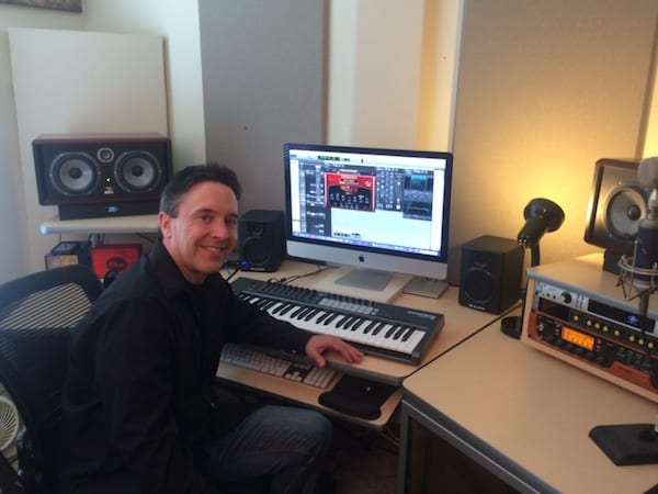 Edward Heidenreich in Studio