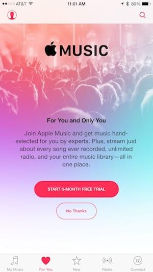 Apple Music on iOS 8.4