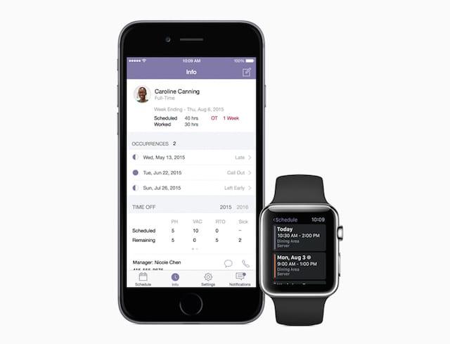 IBM - Apple Shift Sync for Employees