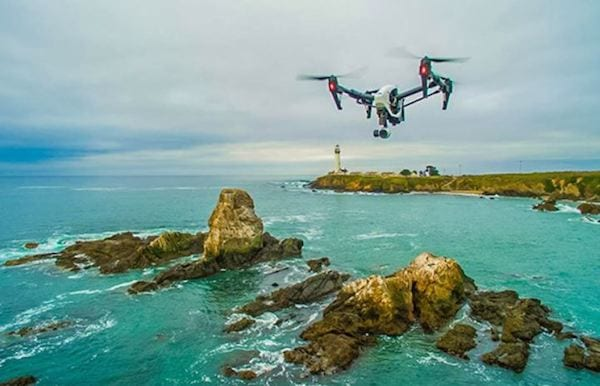 Breathtaking Film – Today's new economic drones and compact 4K cameras enable people to capture footage that was out of the reach of independent filmmakers. From low-level capture (indoors and out) to high, expansive views up to 100 feet and more; the systems open up new vistas for almost every video and photo professional.