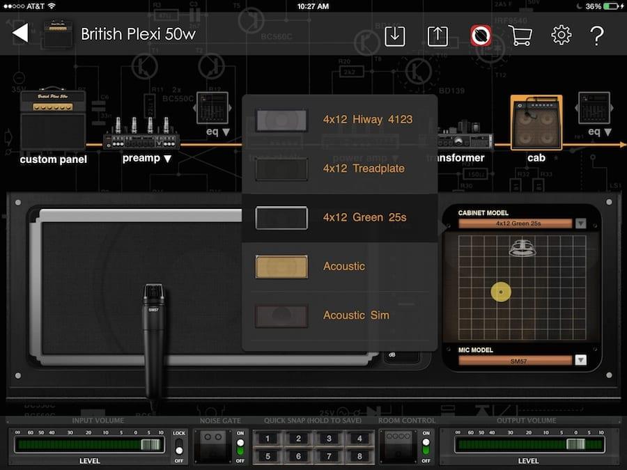 Bias Amp speaker design screen shot_4