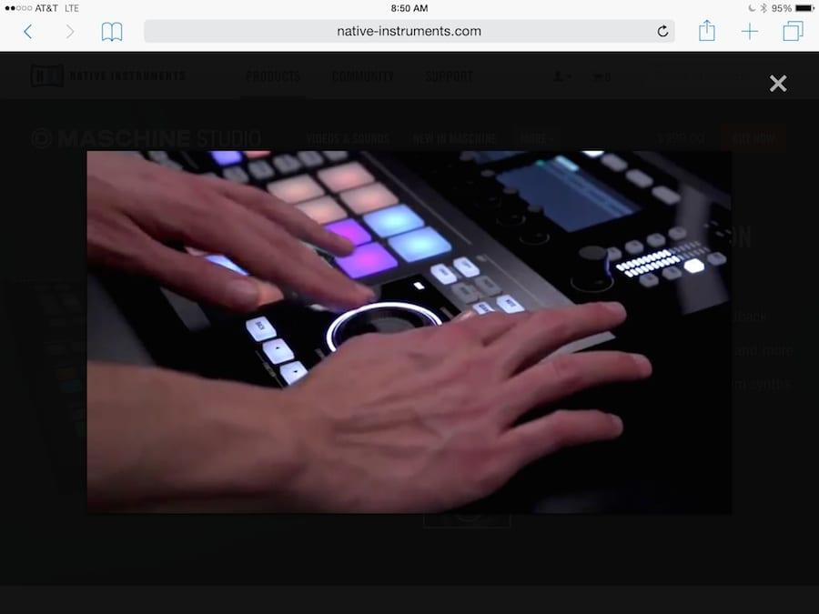 Maschine Edit Screen 2