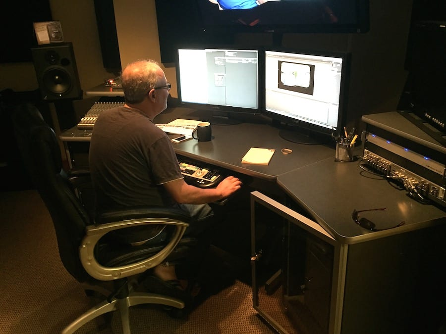 Green Fields Edit Suite- in the trenches