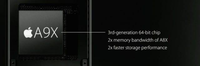 Apple A9X Specs