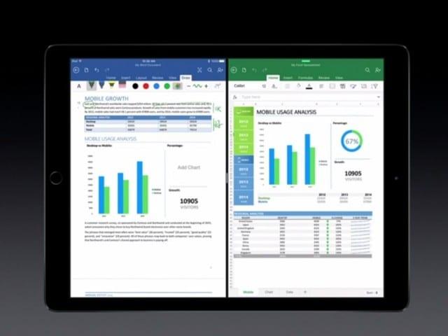 Office on iPad Pro
