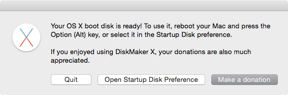 Create Bootable El Capitan Drive with DiskMaker X for Mac